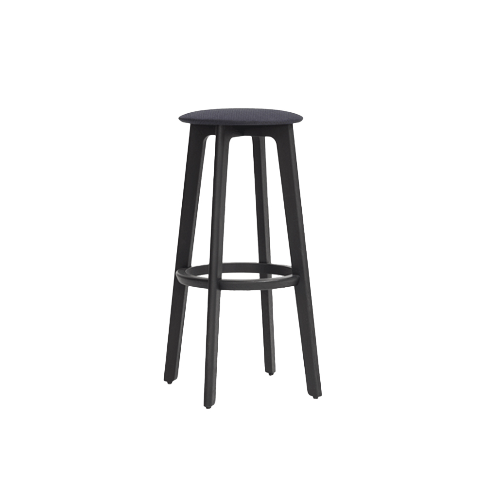 1.3 High Stool (Upholstered Seat)