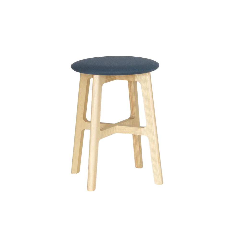 1.3 Low Stool (Upholstered)