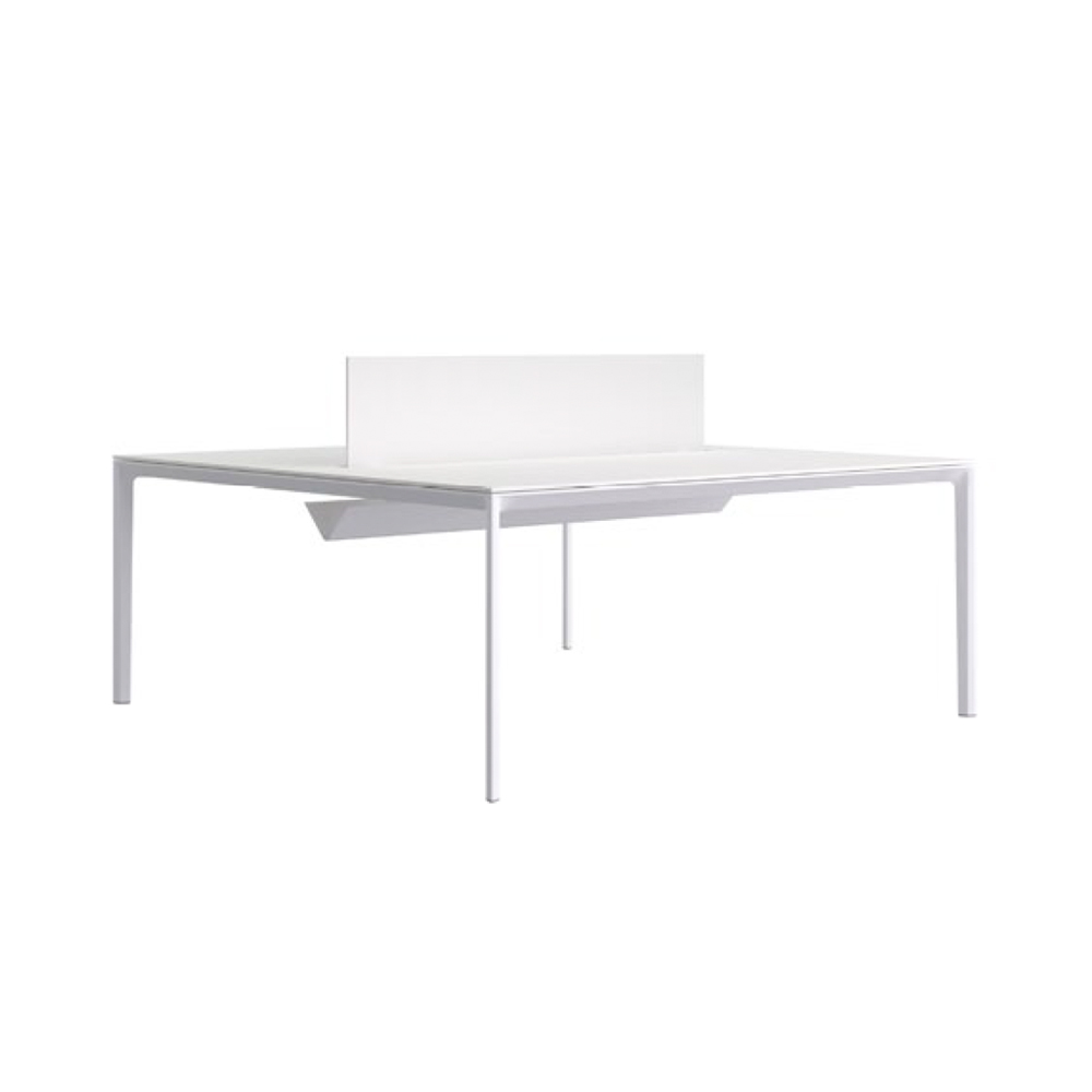 ADD Desk With Partition Panel