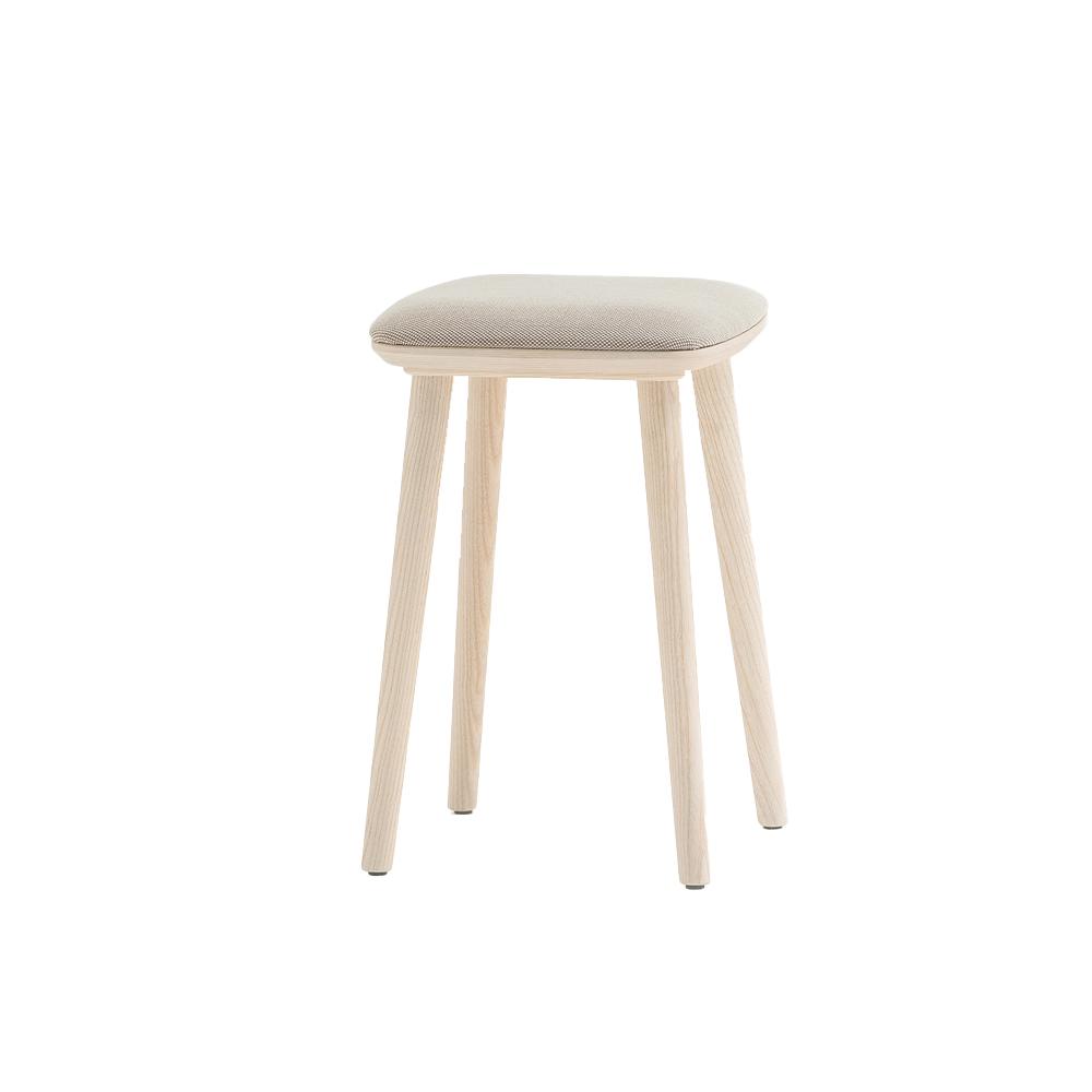 Babila Low Stool (Seat Upholstered)