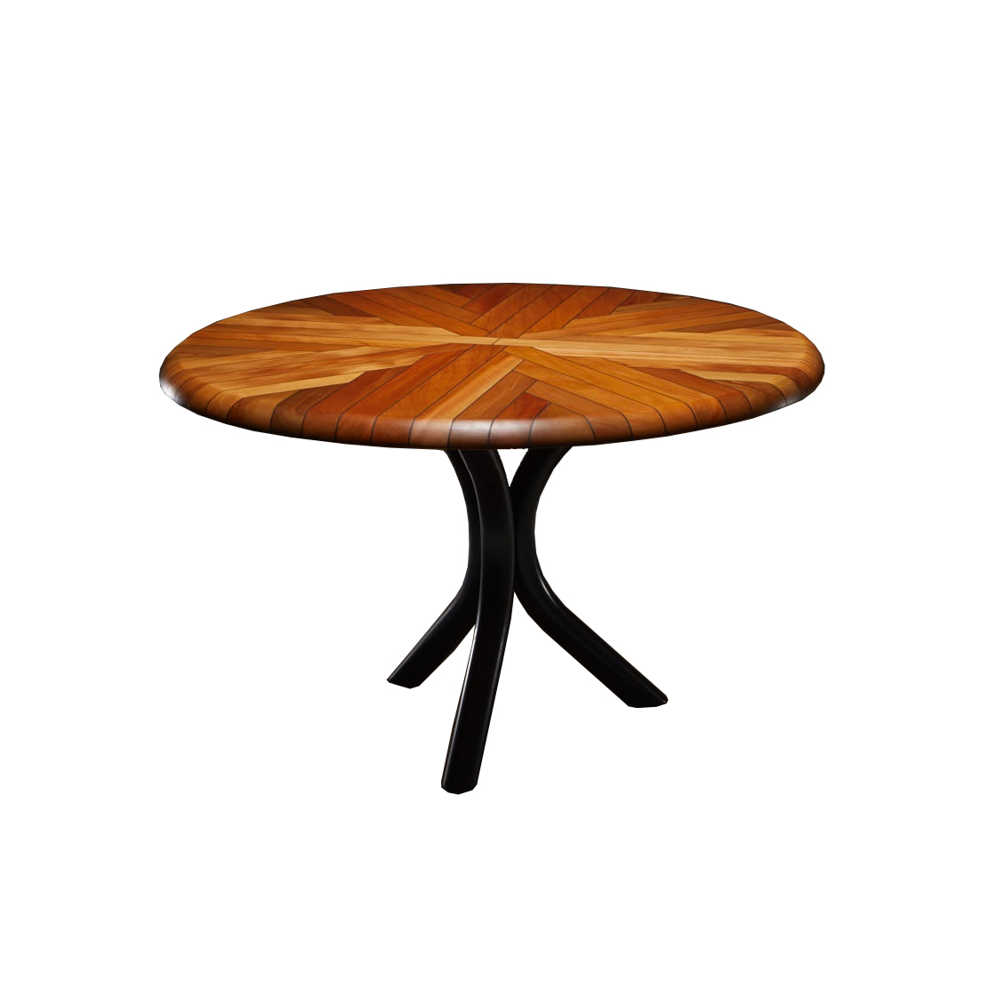 Black Tree Fern Dining Table