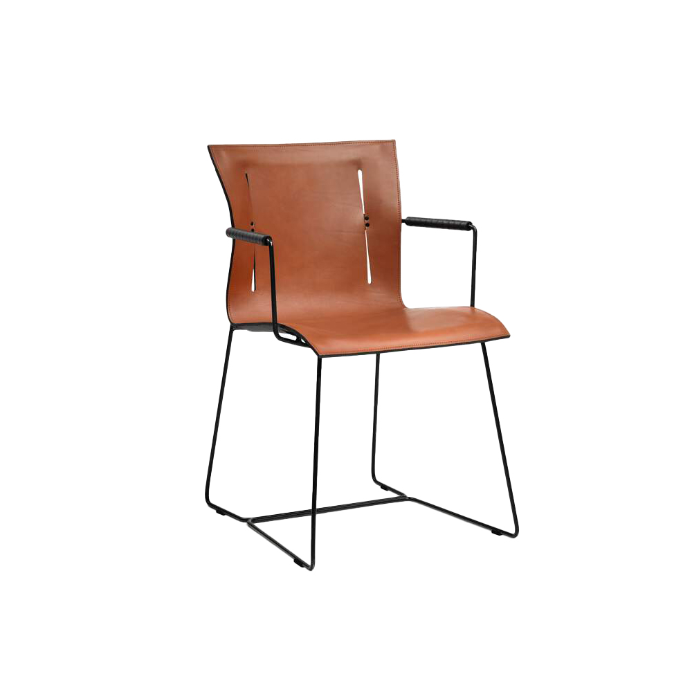 Cuoio Chair (with arms)