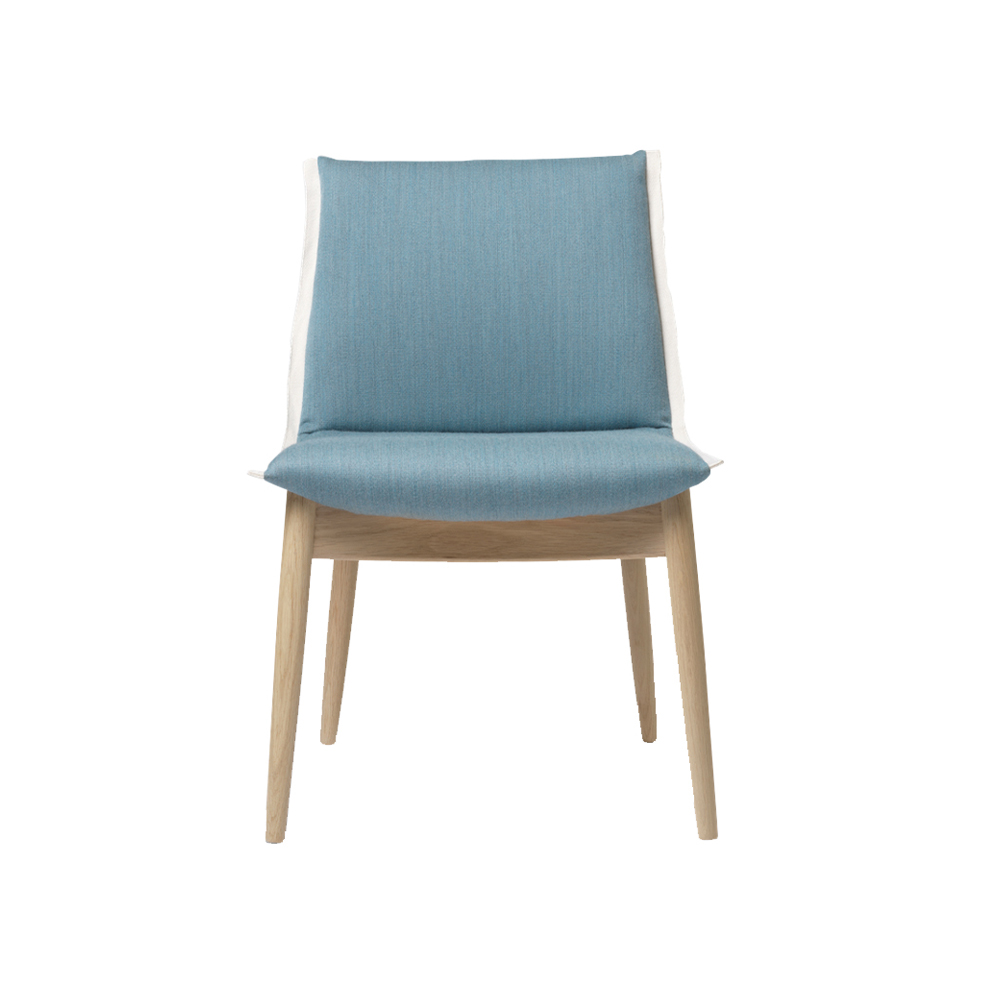 E004 Embrace Dining Chair without Arms