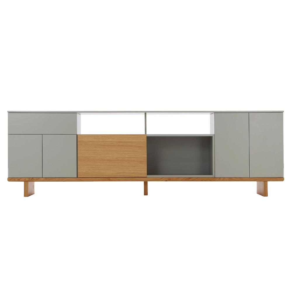 Geta Large Credenza (Doors and Shelf)