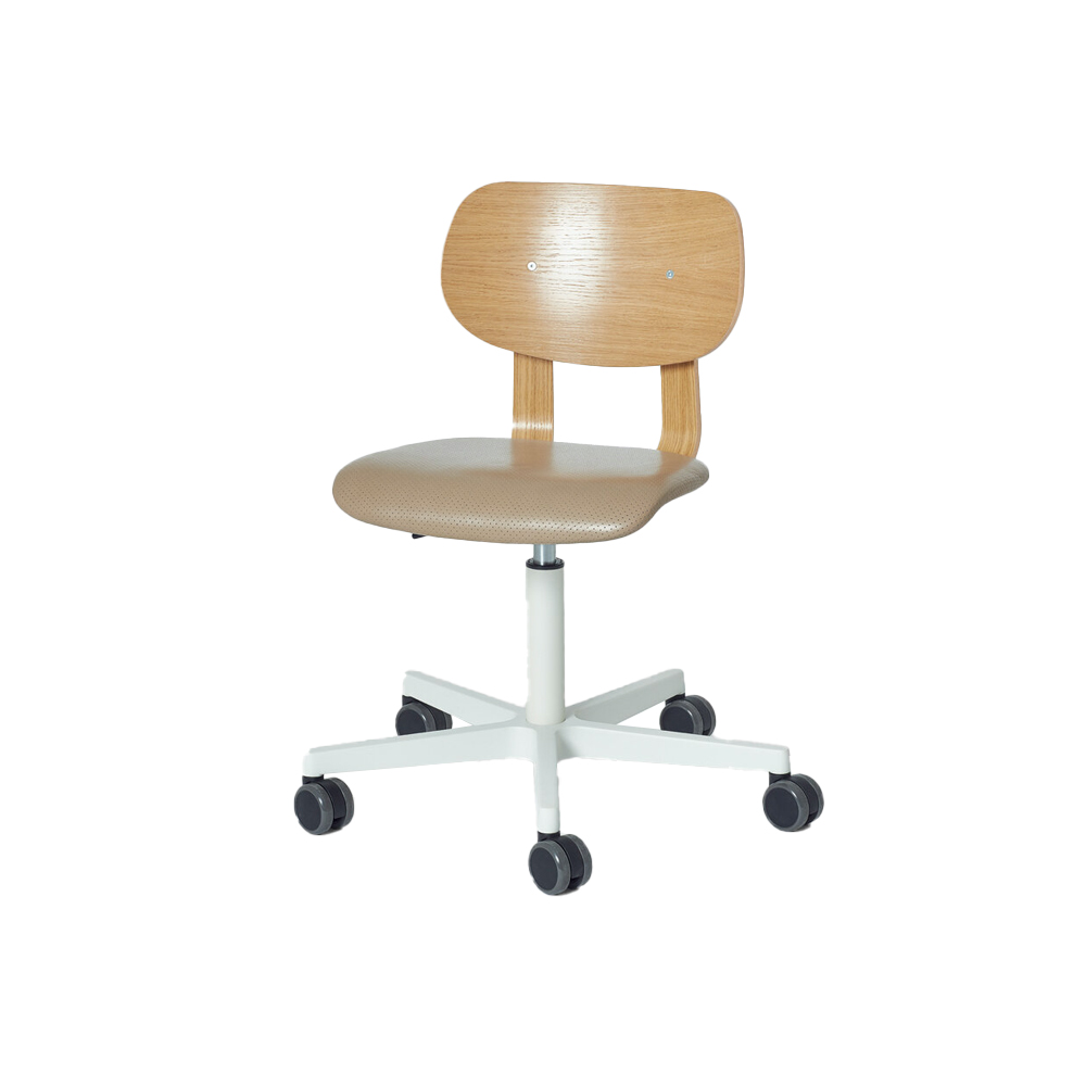 HD Castor Chair, Upholstered Without Arms