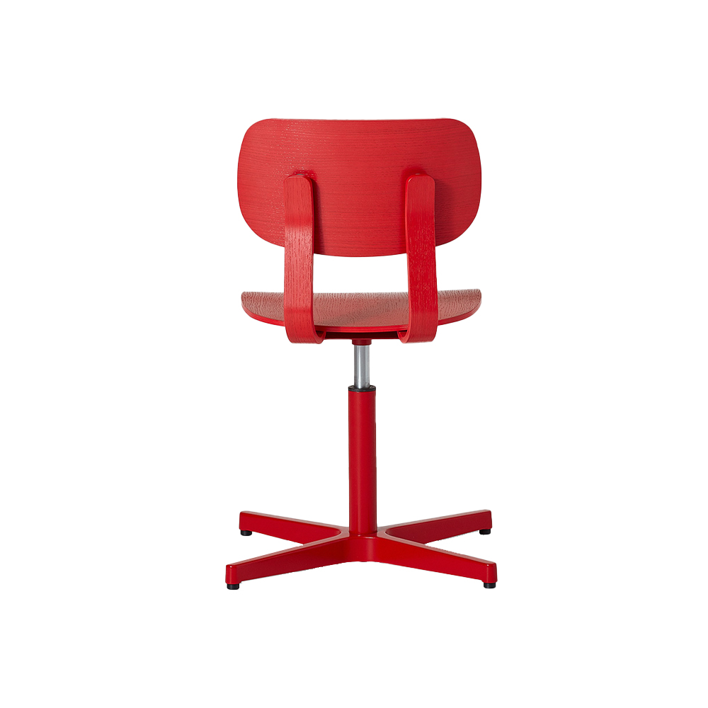 HD Pedestal Chair, Un-upholstered Without Arms