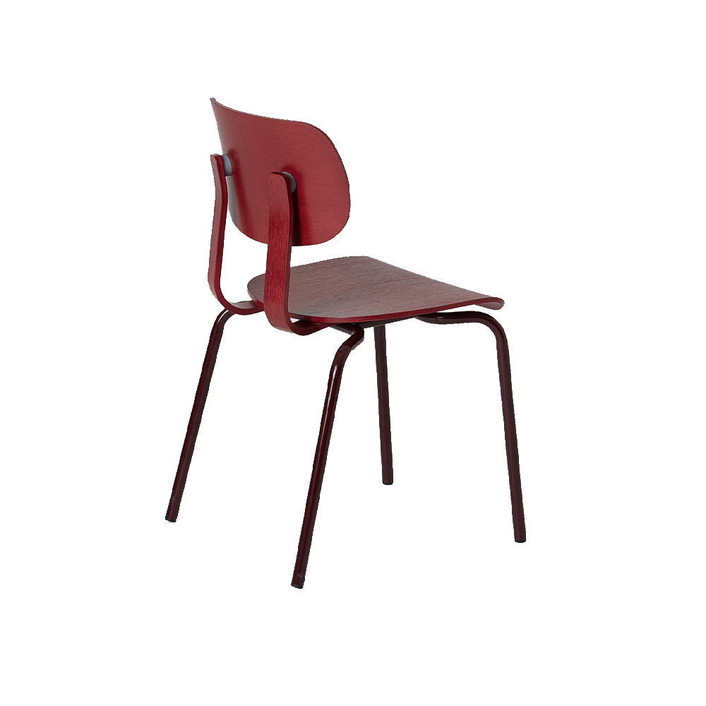 HD Stacking Chair, Un-Upholstered Without Arms