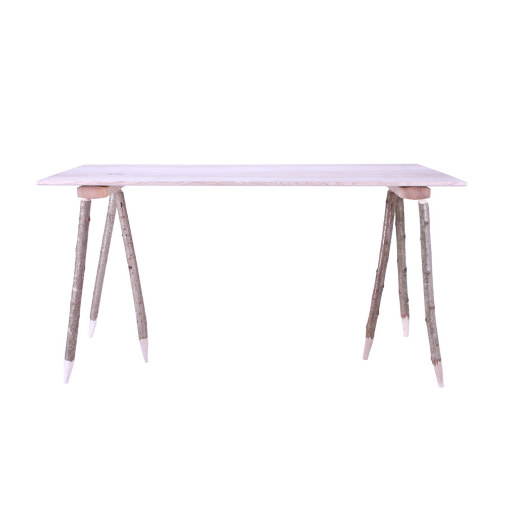 Hewn Trestle Table