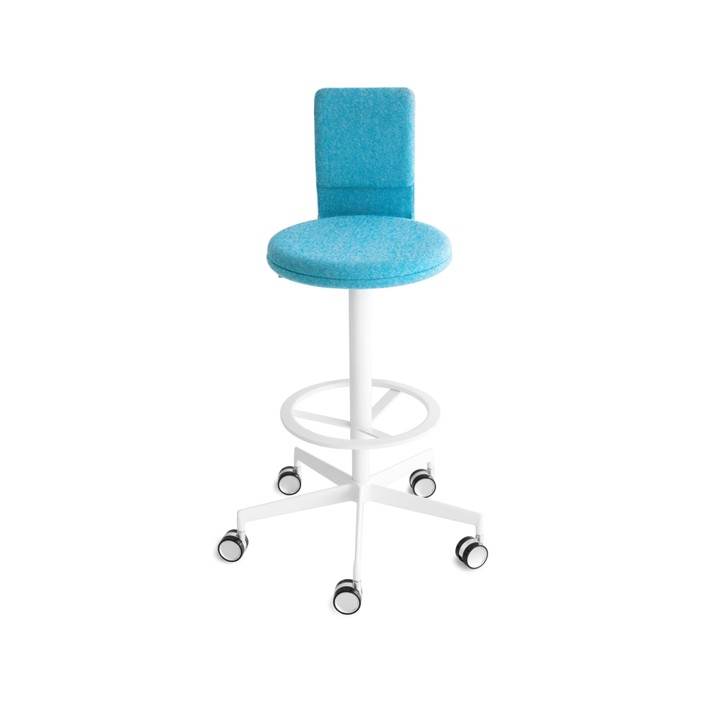 Lab Bar Stool With Back