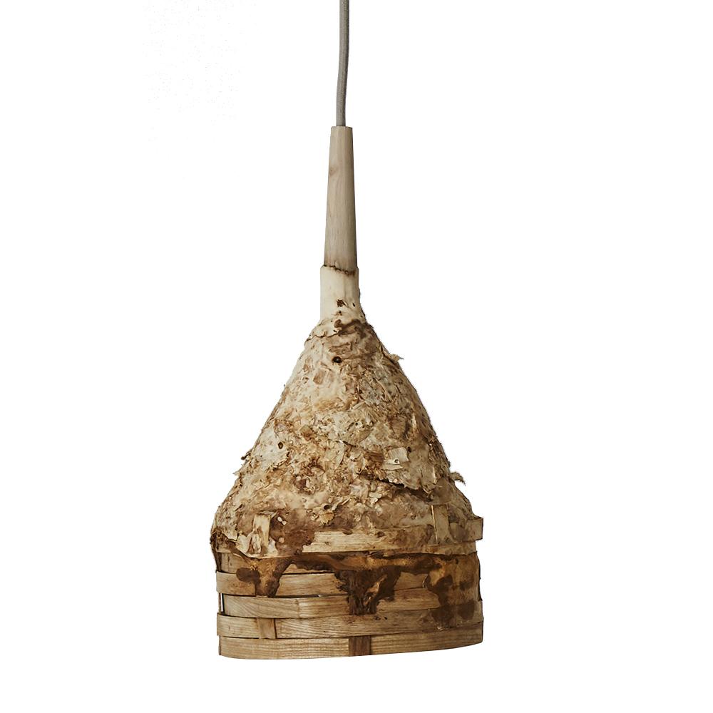 Mycelium ceiling pendant