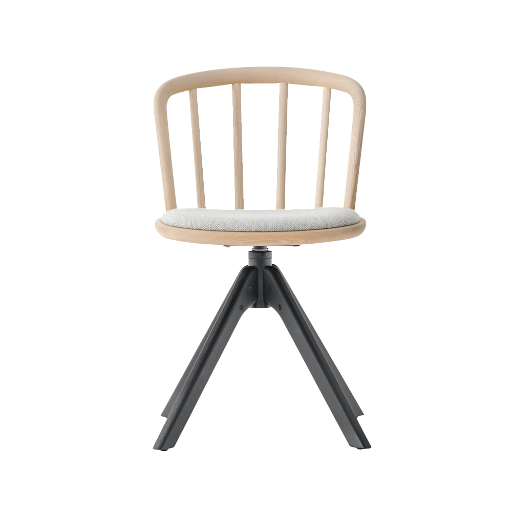 Nym 4-Star Dining Chair (Upholstered Seat)