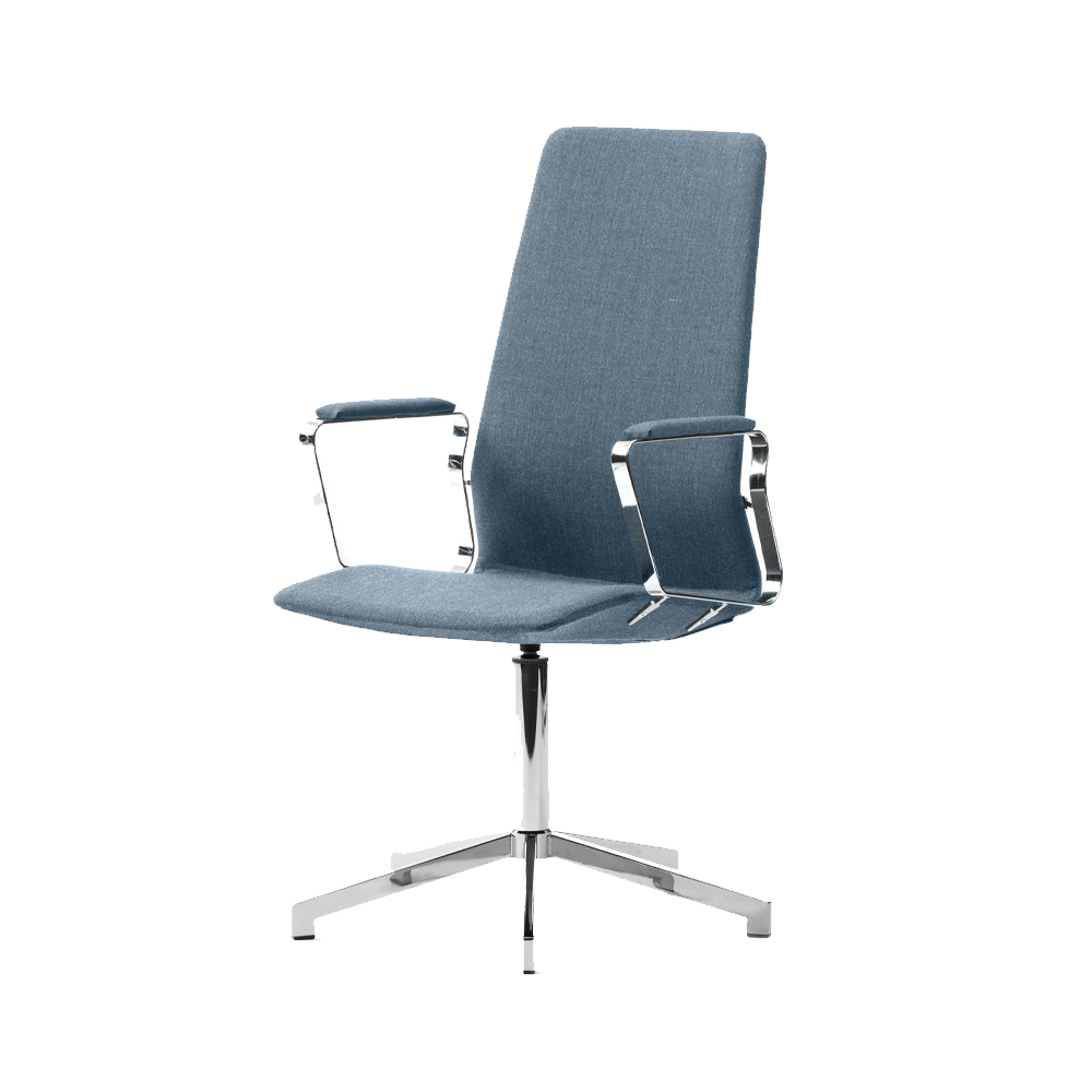 Pilot Swivel Chair With High Back