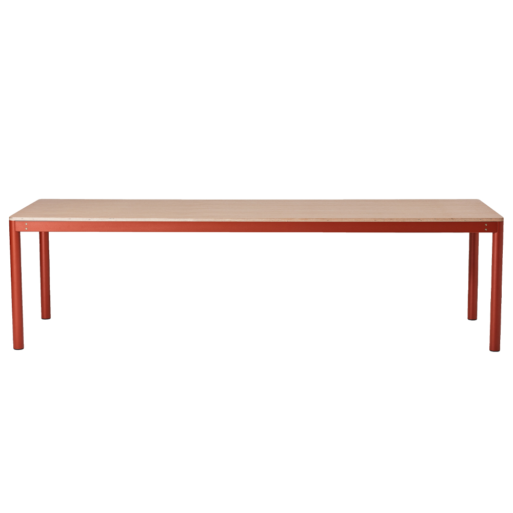 Metal Dowel Table Rectatangular