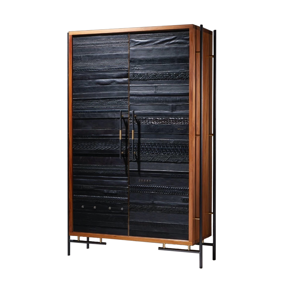 ReLeathered Armoire