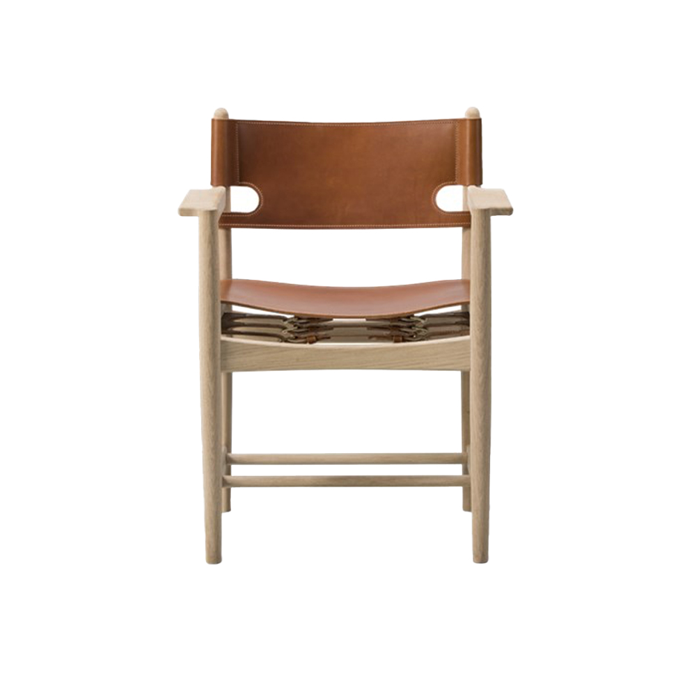 Spanish Dining Chair With Arms