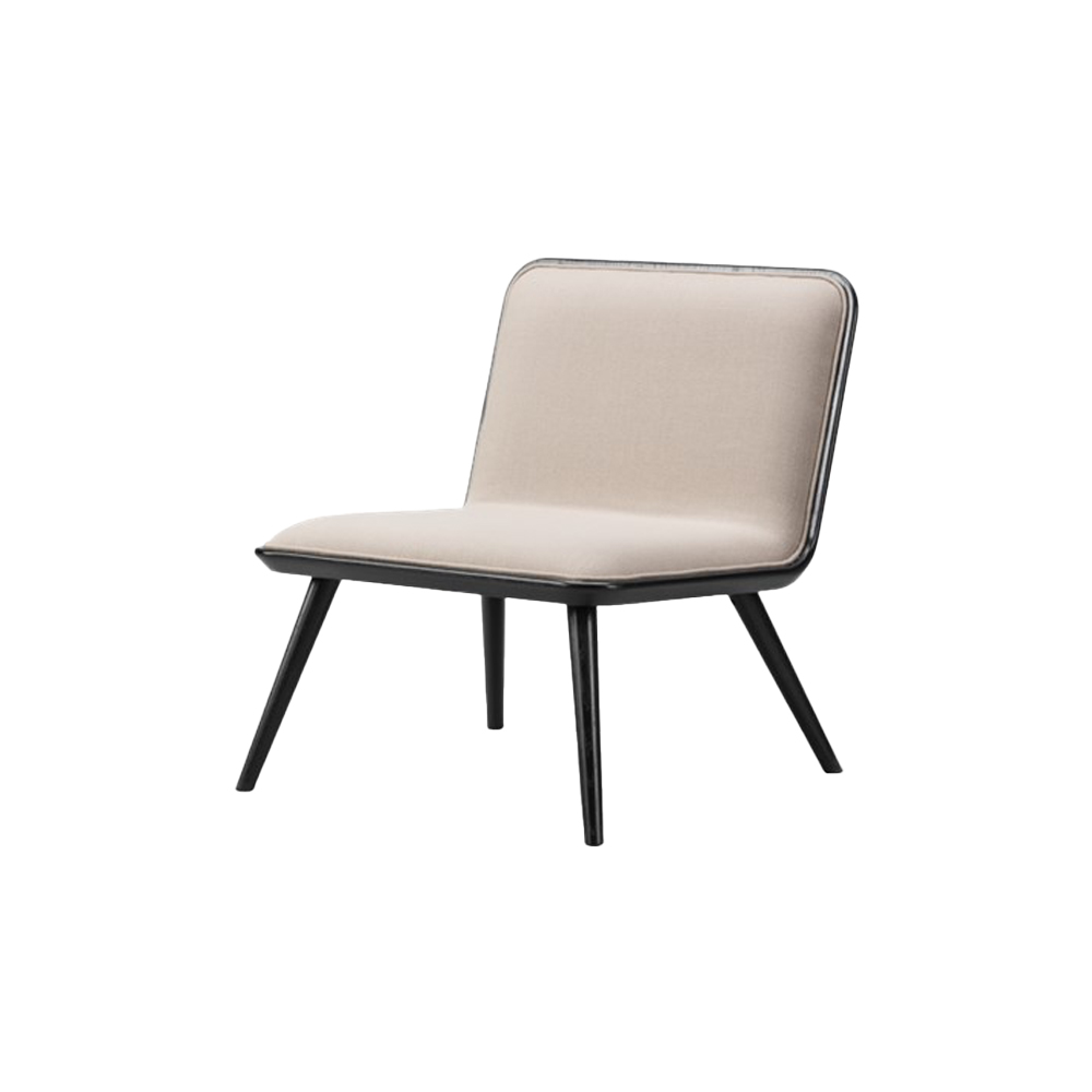 Spine Lounge Chair (Front Upholstered)