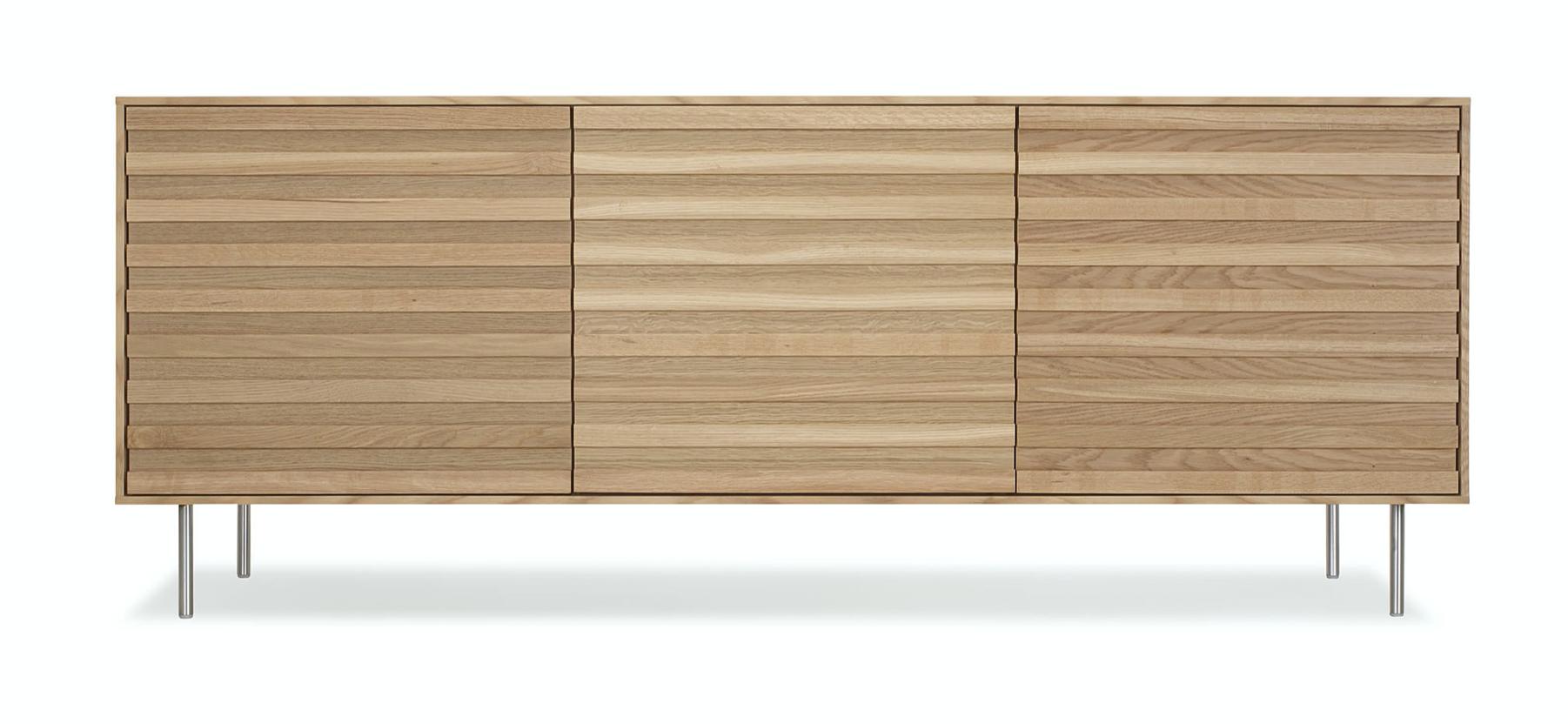 Stripey 3 Door Cabinet 2
