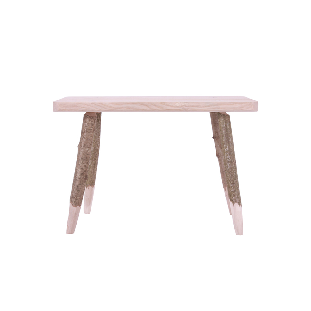 Underwood Hewn Stool