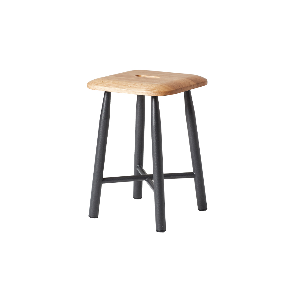 VG&P Low Stool, Un-upholstered